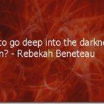 Fighting the demons that block desire