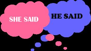 He-said